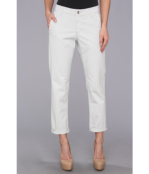 Big Star - Avery Boyfriend Chino Crop in Ice (Ice) Women