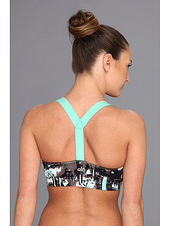 SALE! $16.99 - Save $35 on ALO Flirt T Back Bra (Pacific Painted Tiles Pacific) Apparel - 67.33% OFF $52.00