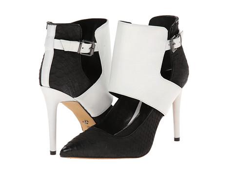 Kenneth Cole New York - Bon-net (Black/White) High Heels