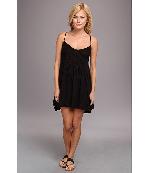 RVCA - Told Secrets Dress (Black) Women's Dress