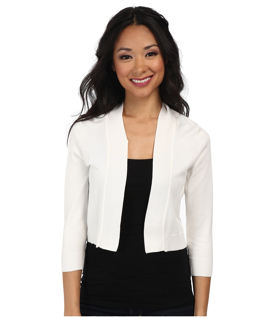rsvp - Bre Shrug (White) Women's Sweater