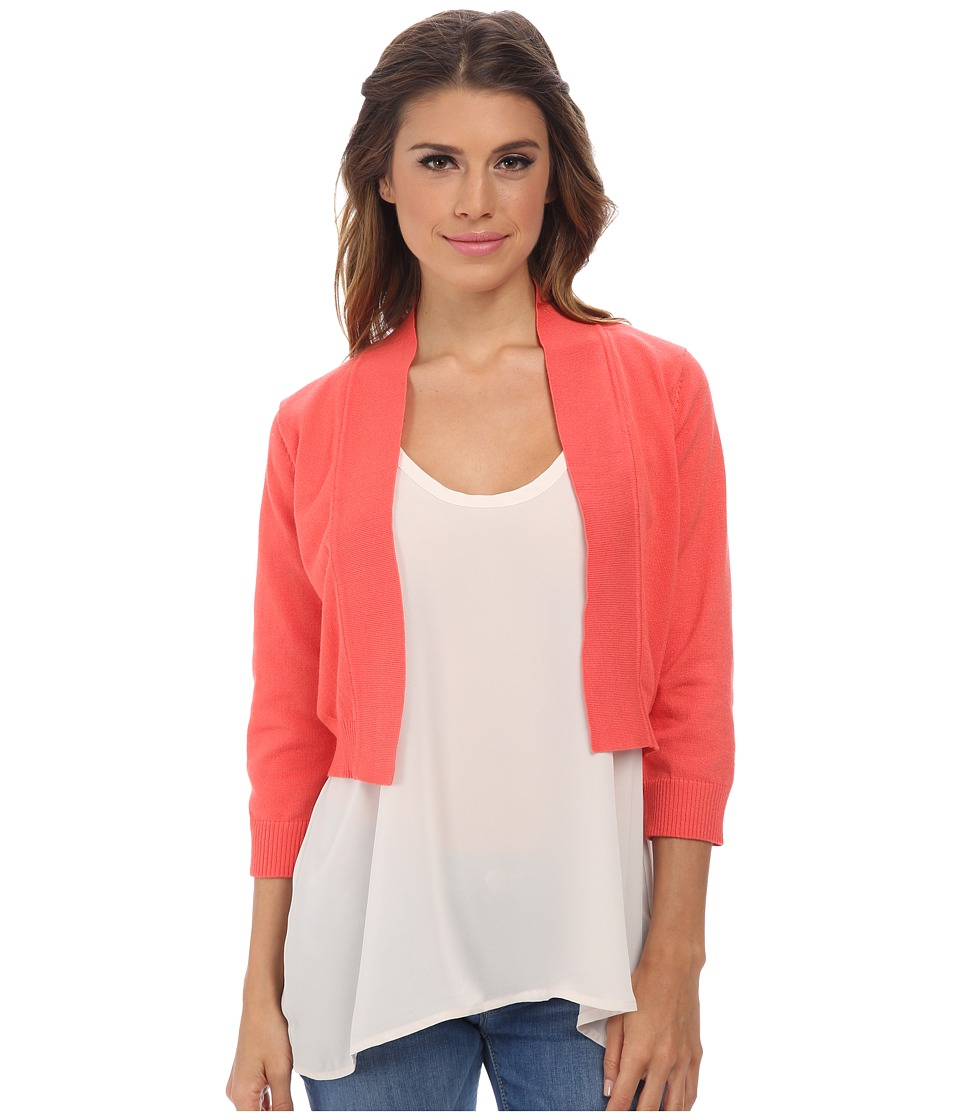 rsvp - Bre Shrug (Coral) Women's Sweater