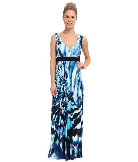 rsvp - Sarah Maxi Dress (Blue) Women
