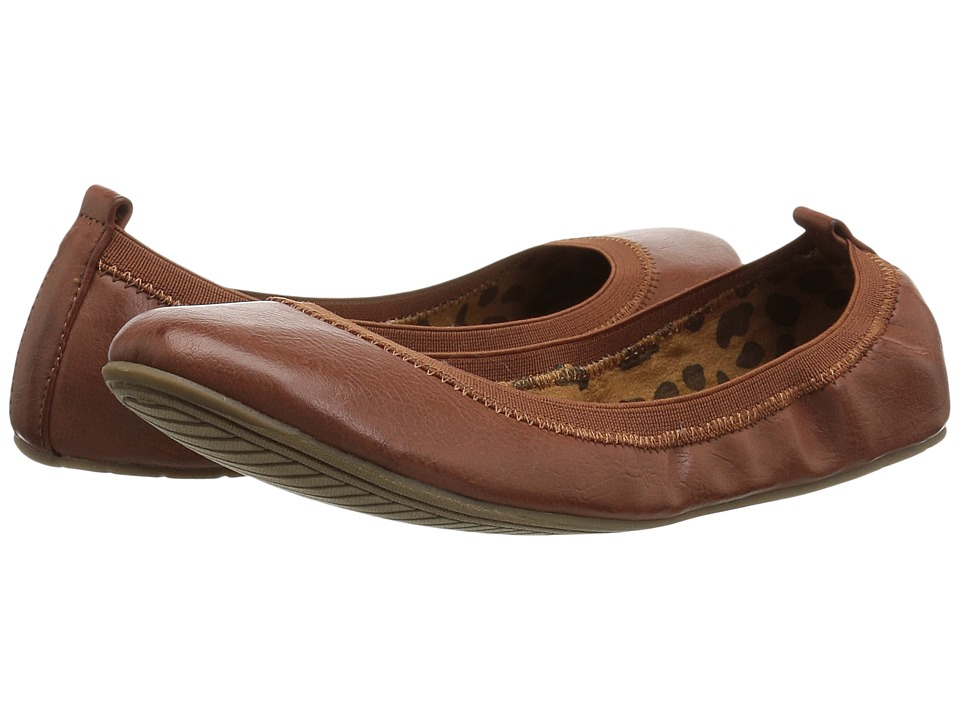 Kenneth Cole Unlisted - Whole Truth (Luggage Riding PU) Women's Flat Shoes