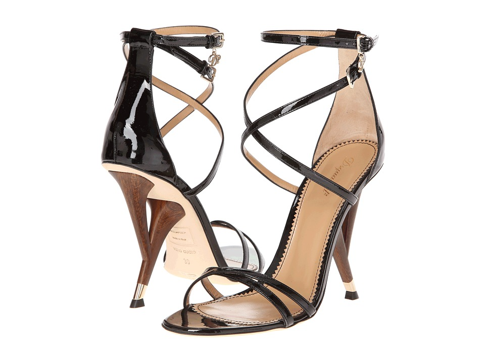 DSQUARED2 - C301 (Vernice Nero) High Heels