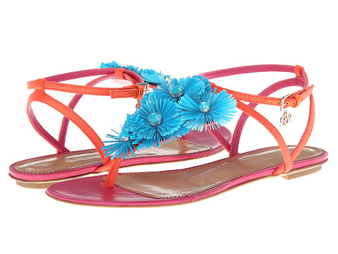 DSQUARED2 - E301 (Tessuto Arancio) Women's Sandals