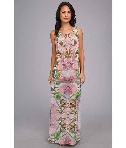 Ted Baker - Madeey Jungle Orchard Maxi Cover-Up (Shell) Women