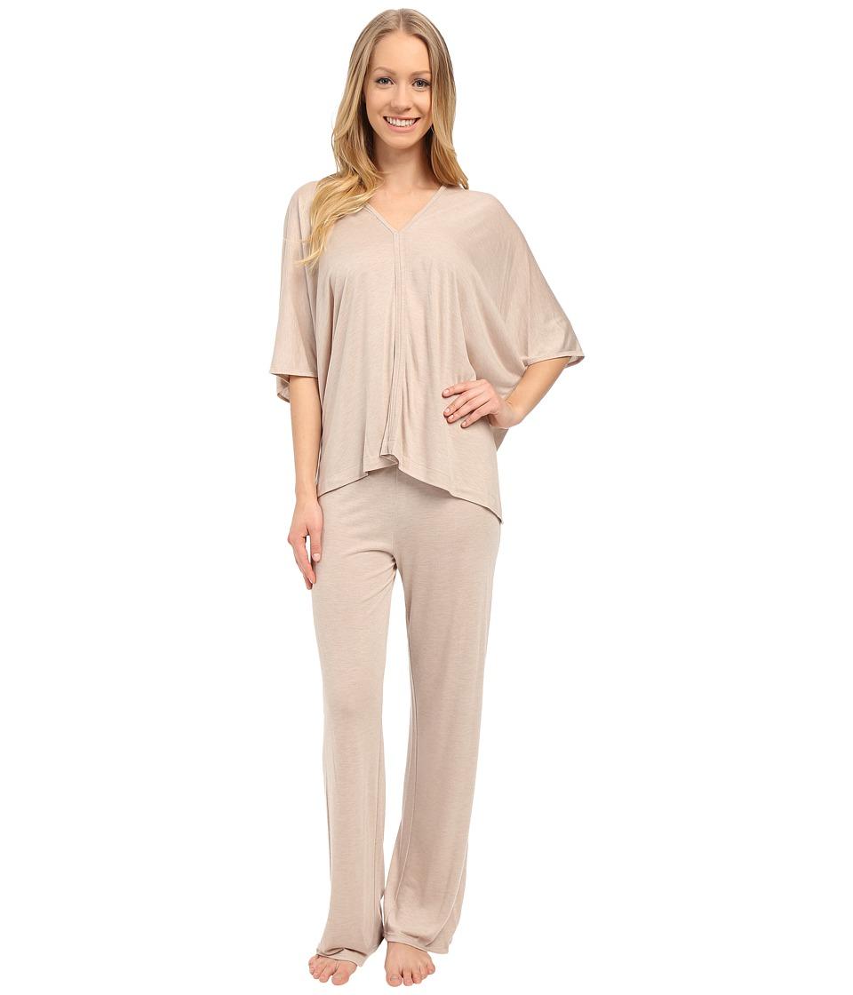 Natori - Shangri-La Tunic PJ (Cashmere) Women's Pajama Sets