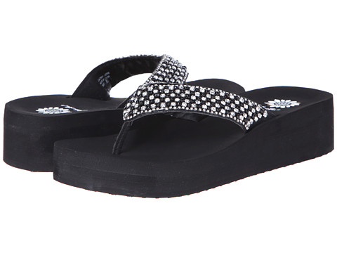 Yellow Box - Ebony (Black) Women's Sandals