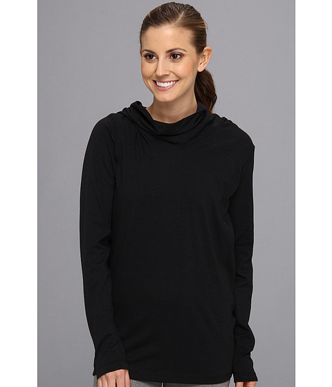 FIG Clothing - Tunic Top (Black) Women's Long Sleeve Pullover