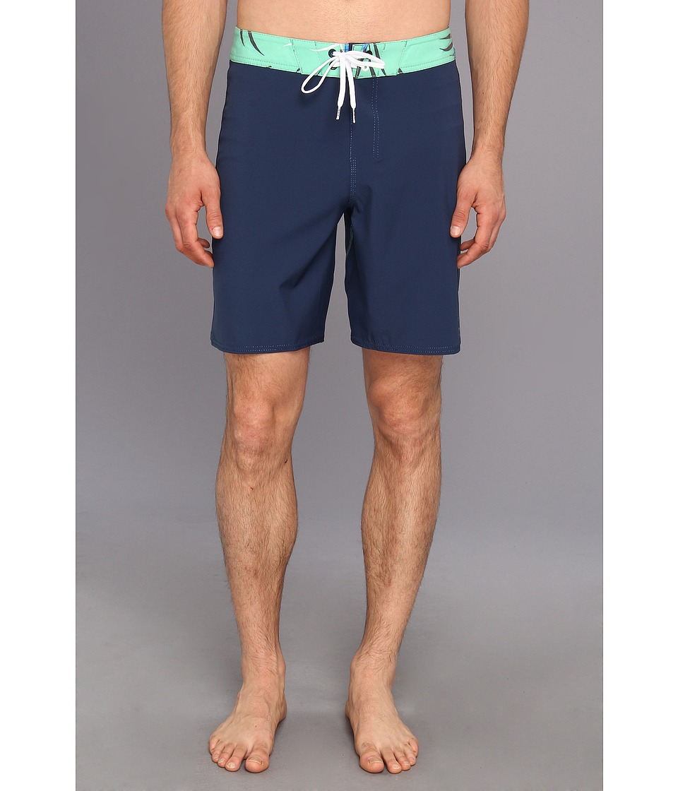 Billabong - Habits Print Boardshort (Navy) Men's Swimwear