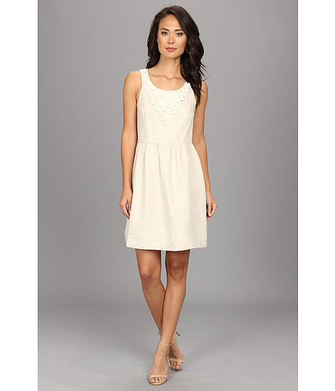 kensie - Linen Dress KS4K9671 (Linen Combo) Women's Dress