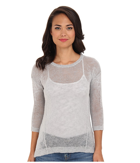 kensie - Wrapped Knit Sweater (Cloudy) Women
