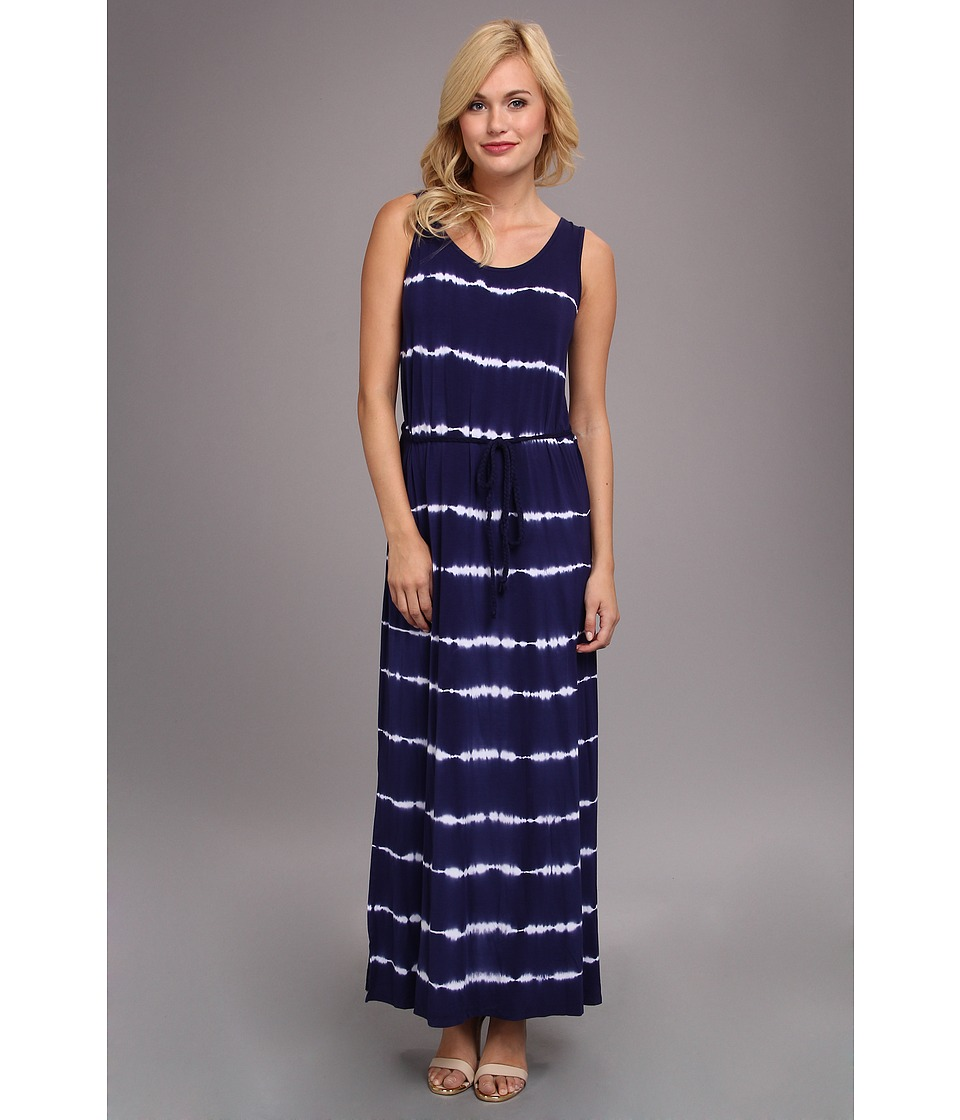 kensie - Tie Dye Dress (Dark Navy Combo) Women's Dress