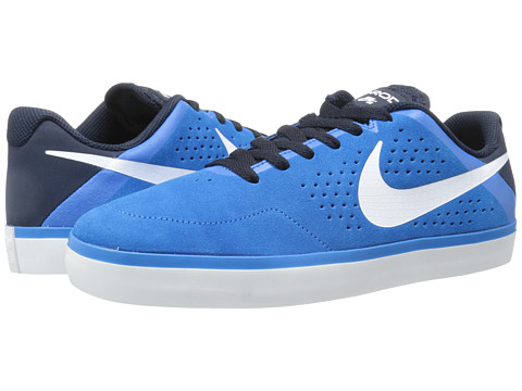 Nike SB - Paul Rodriguez CTD LR (Photo Blue/White-Obsidian) Men's Skate Shoes