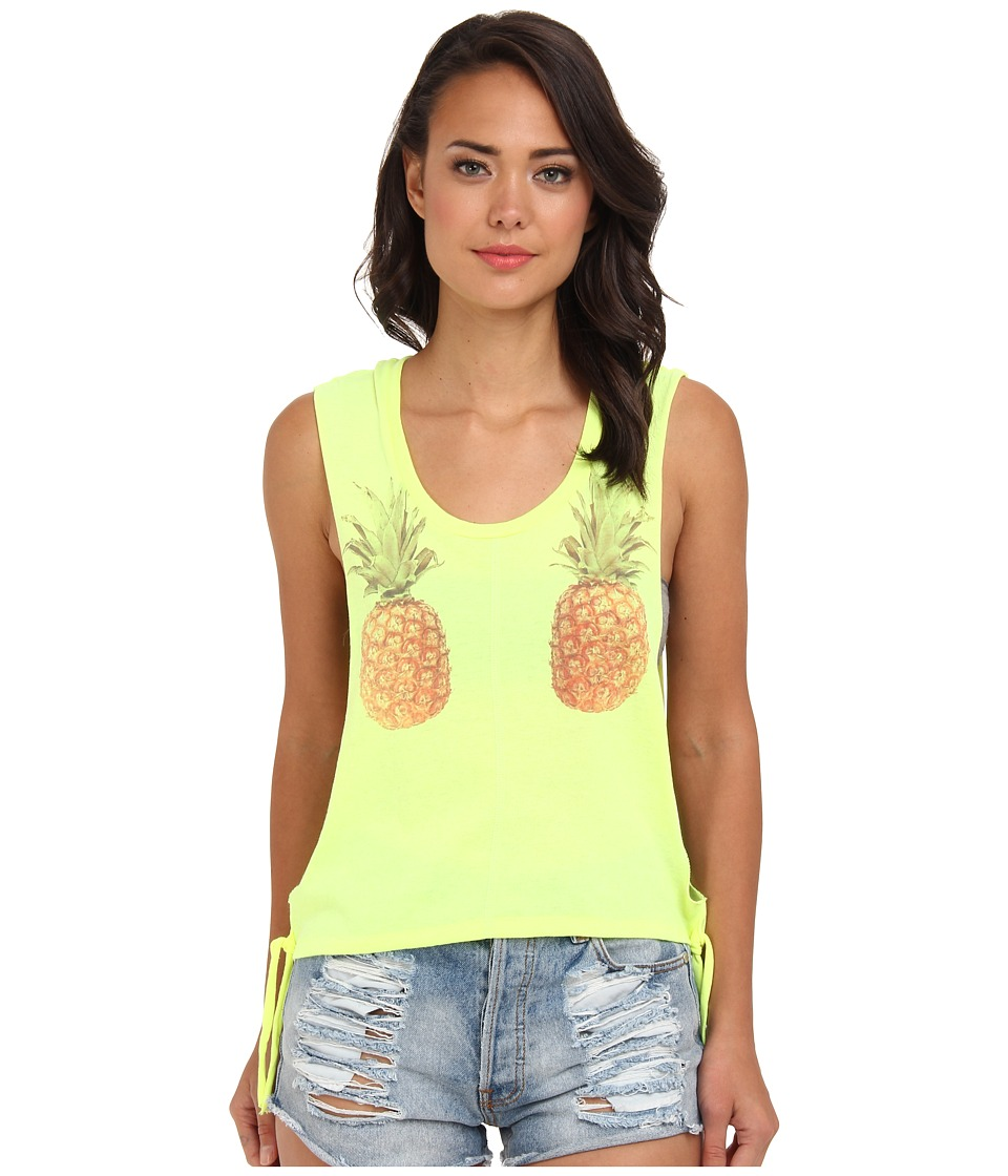 Billabong - She Sells Tank (Lemon Zest) Women's Sleeveless
