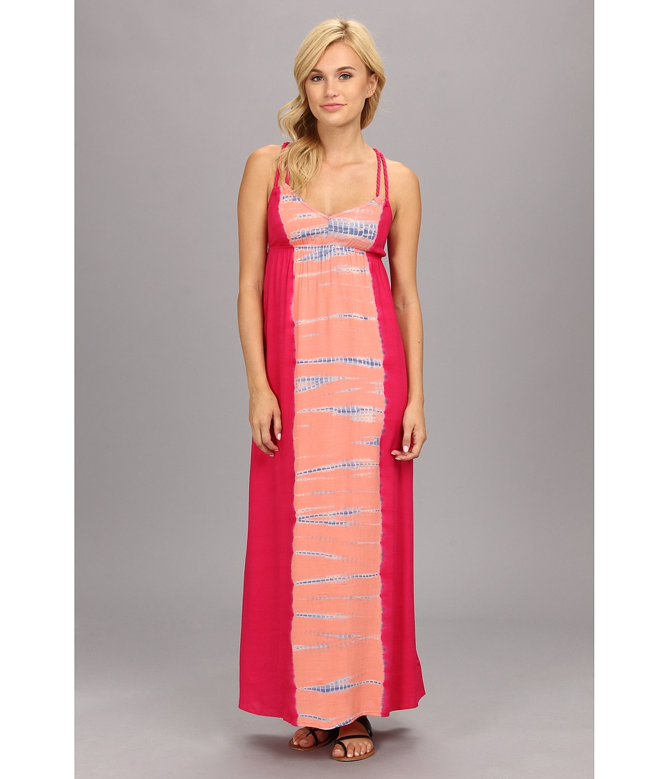 Roxy - Fire Bloom Maxi Dress (Juniors) (SW Fandango Tie Dye) Women's Dress