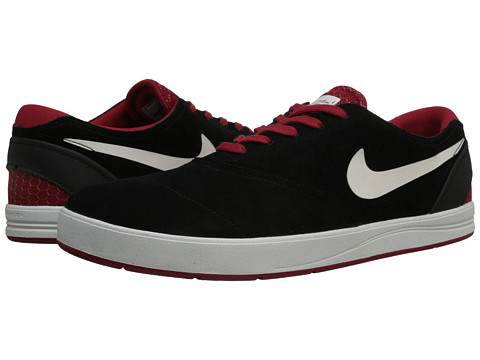 Nike SB - Eric Koston 2 (Black/Gym Red/Summit White) Men's Skate Shoes