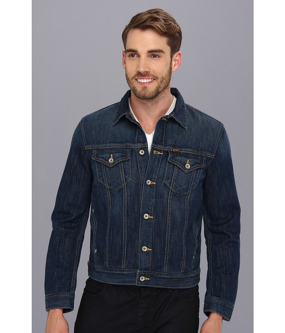 Big Star - Standard Denim Jacket in Oakwood (Oakwood) Men