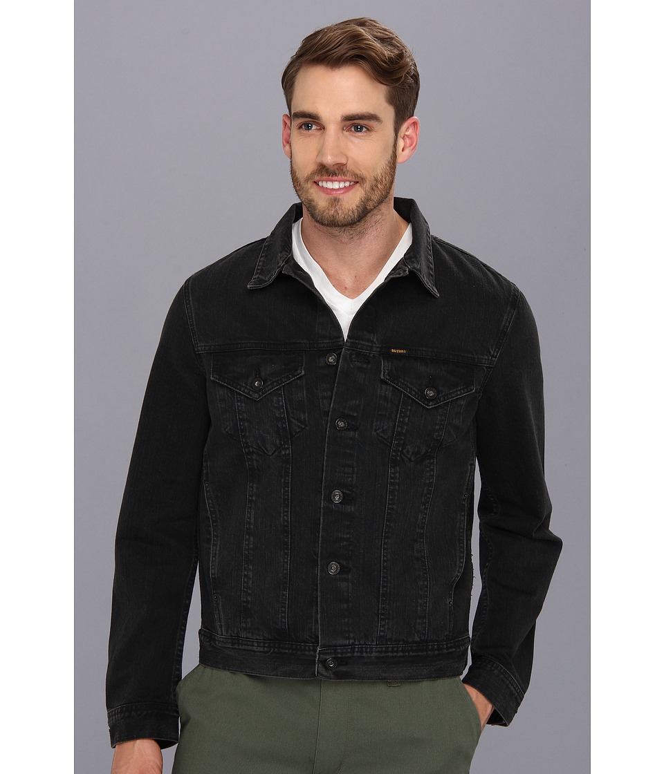 Big Star - Standard Denim Jacket in Black (Black) Men's Coat