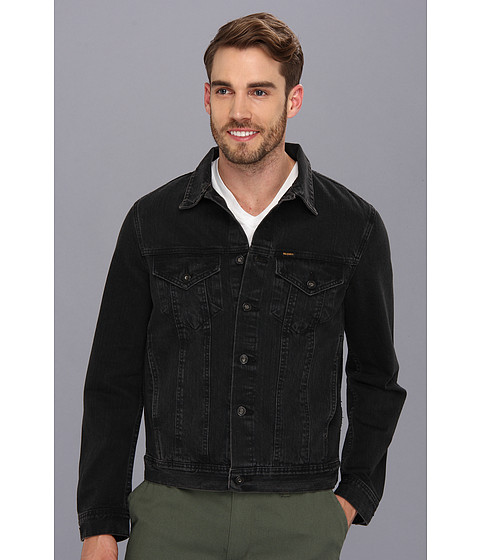 Big Star - Standard Denim Jacket in Black (Black) Men