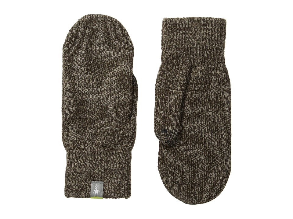 Smartwool Cozy Mitten (Taupe) Over-Mits Gloves