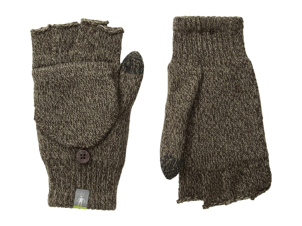 Smartwool - Cozy Flip Mitt (Taupe) Over-Mits Gloves