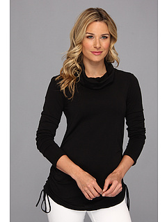SALE! $39.99 - Save $30 on Mod o doc Supreme Jersey Side Cinch Tunic (Black) Apparel - 42.87% OFF $70.00