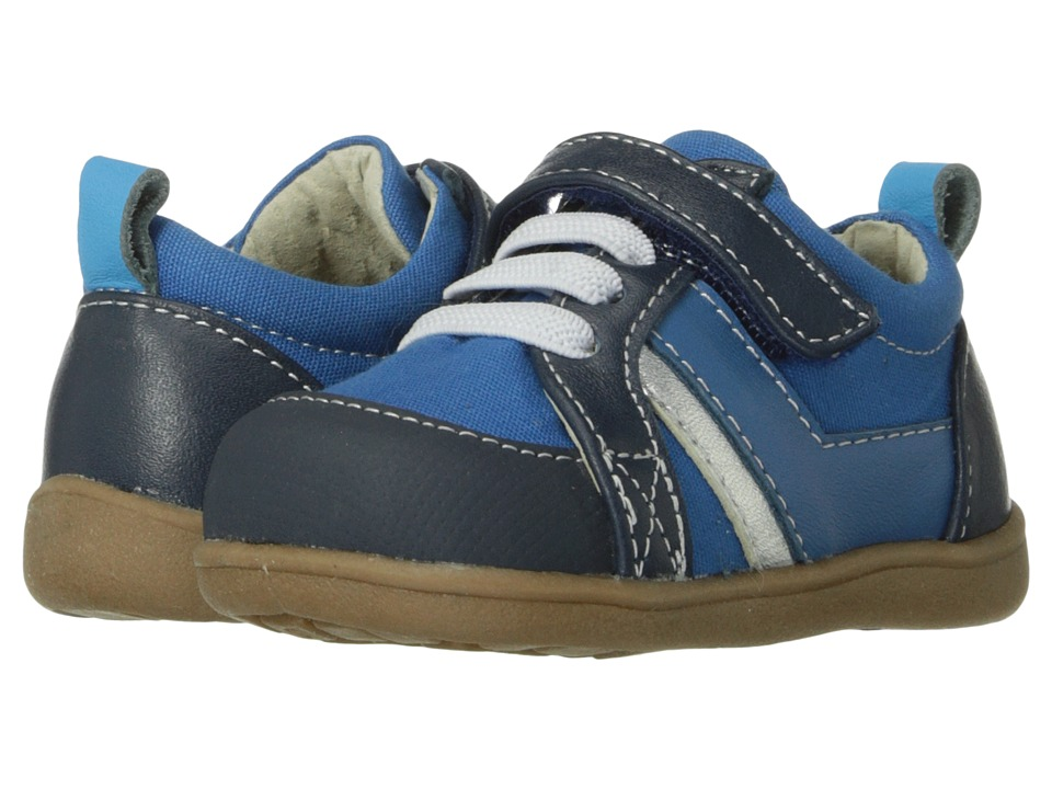 See Kai Run Kids - Cash (Infant/Toddler) (Blue) Boy's Shoes