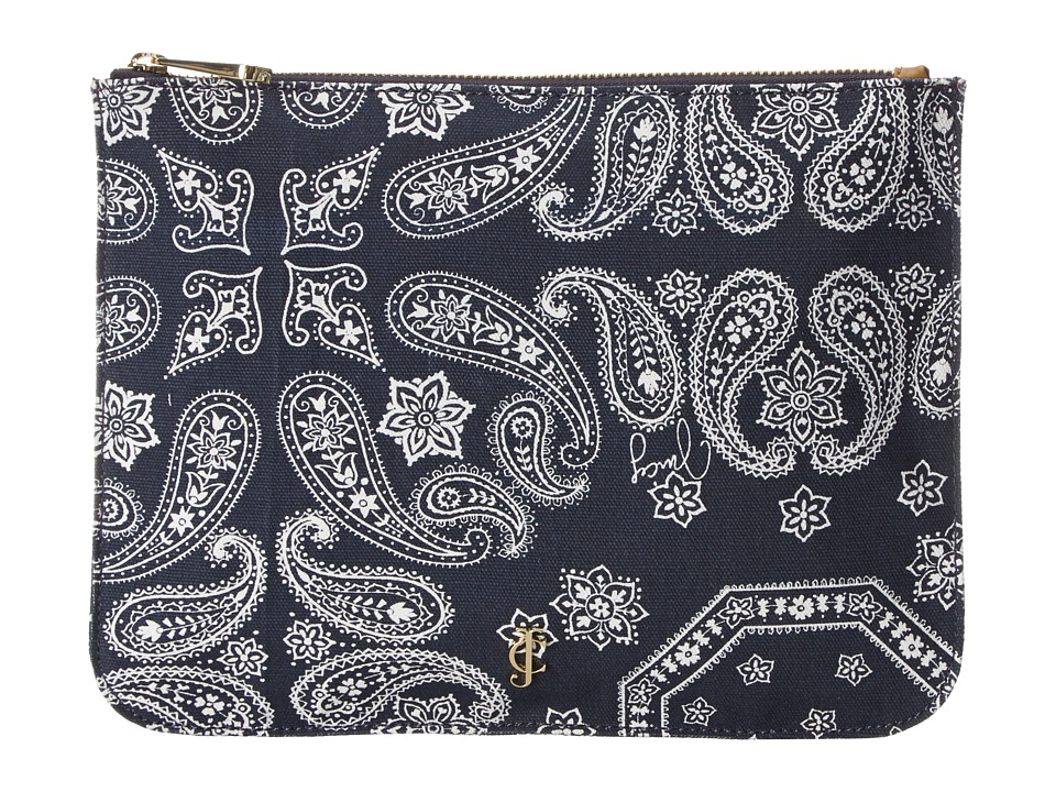 Juicy Couture - Bandana Slgs Pouch (Regal Print) Handbags