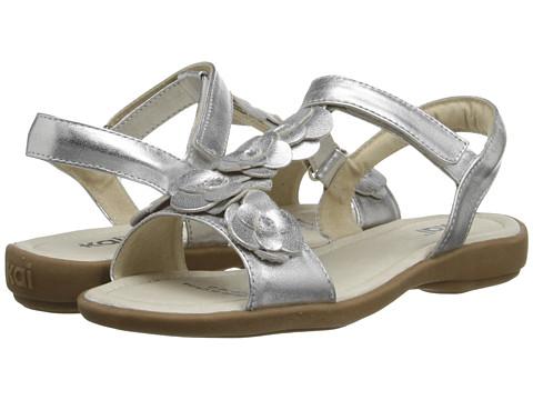 See Kai Run Kids - Zora (Toddler/Little Kid) (Silver) Girls Shoes