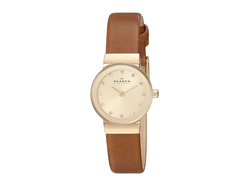 Skagen - SKW2175 (Gold/Luggage) Watches