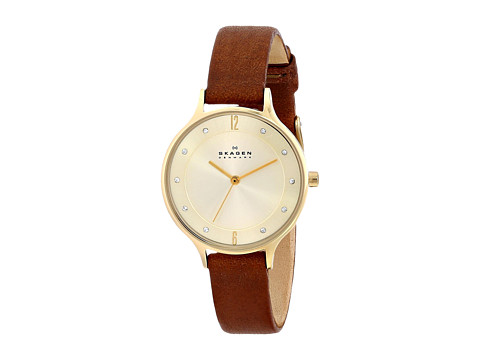 Skagen - SKW2147 (Gold/Luggage) Watches