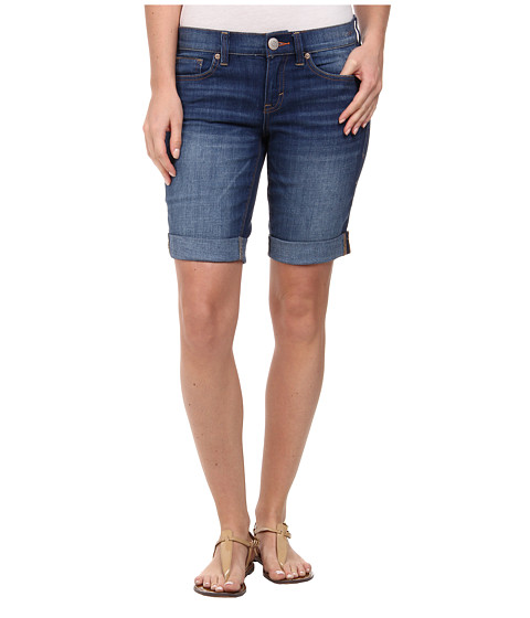 Dittos - Avery Roll Cuff Short in Indigo (Indigo) Women's Shorts