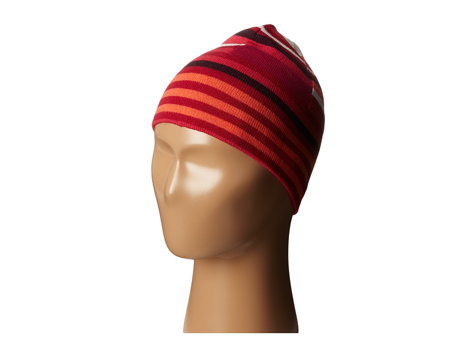 Smartwool - Kids' Wintersport Stripe Hat (Persian Red) Beanies