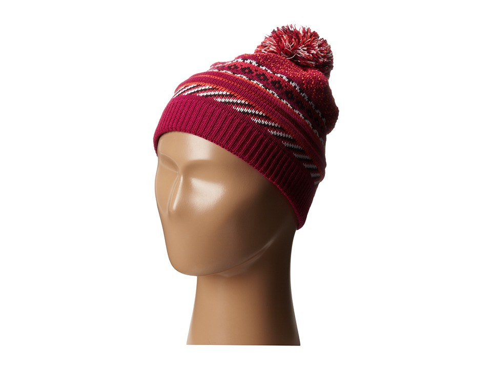 Smartwool - Girls' Little Falls Textured Hat (Berry) Beanies
