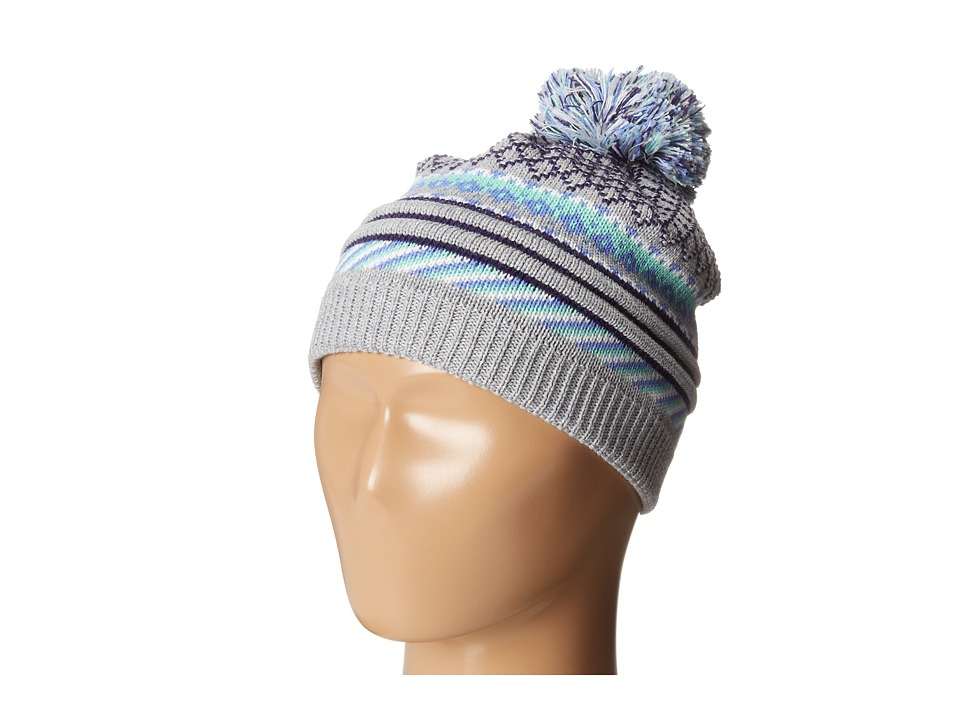 Smartwool - Girls' Little Falls Textured Hat (Light Gray Heather) Beanies