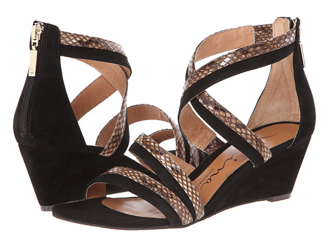 Nina Originals - Nadja (Black Suede/Snake) Women