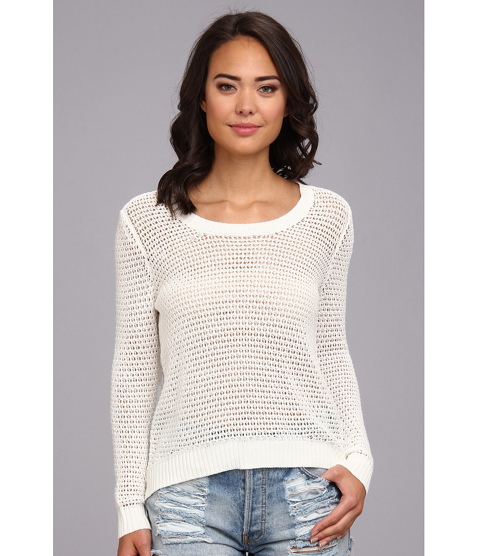 Billabong - Half Moon Bay Sweater (White Cap Heather) Women's Sweater