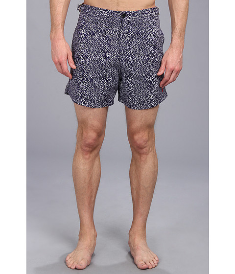 French Connection - Jaxon Daisy Swim Short (Eclipse) Men's Swimwear