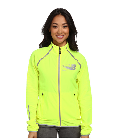 New Balance - High-Visibility Beacon Jacket (Hi-Lite) Women's Coat