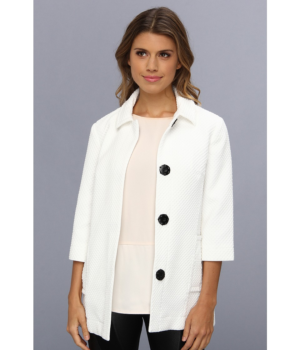 Bailey 44 - Dream Car Coat (Chalk) Women