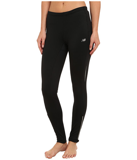 New Balance - Heat Fitted Tight (Black) Women's Workout