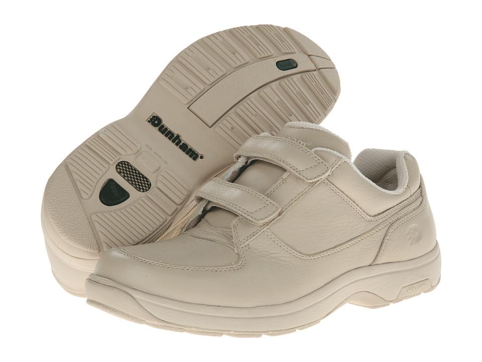 Dunham - Winslow (Bone) Men's Hook and Loop Shoes