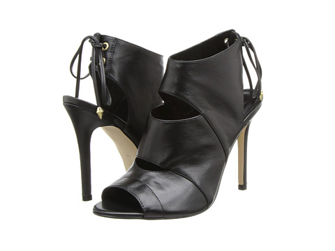GUESS - Ollay (Black Leather) High Heels