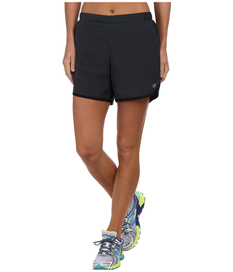 New Balance - 5 Go 2 Short (Anthracite/Black) Women