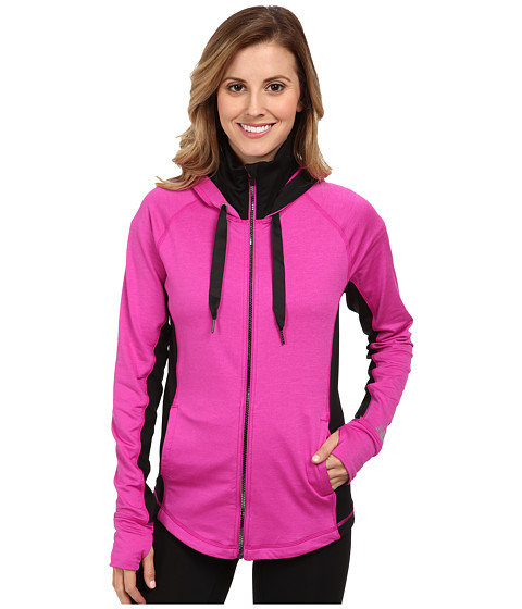 New Balance - Achieve Fitted Jacket (Poisonberry/Anthracite) Women's Coat