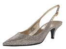 Bandolino Butler (Gold Glamour Fabric) High Heels