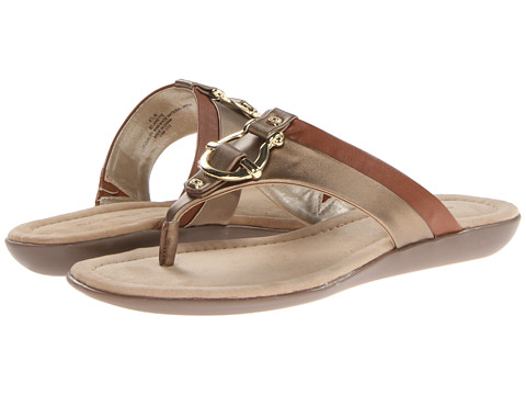 Bandolino - Janette (Bronze/Tan Synthetic) Women's Sandals