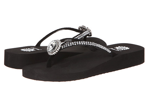 Yellow Box - Fernanda (Black) Women's Sandals